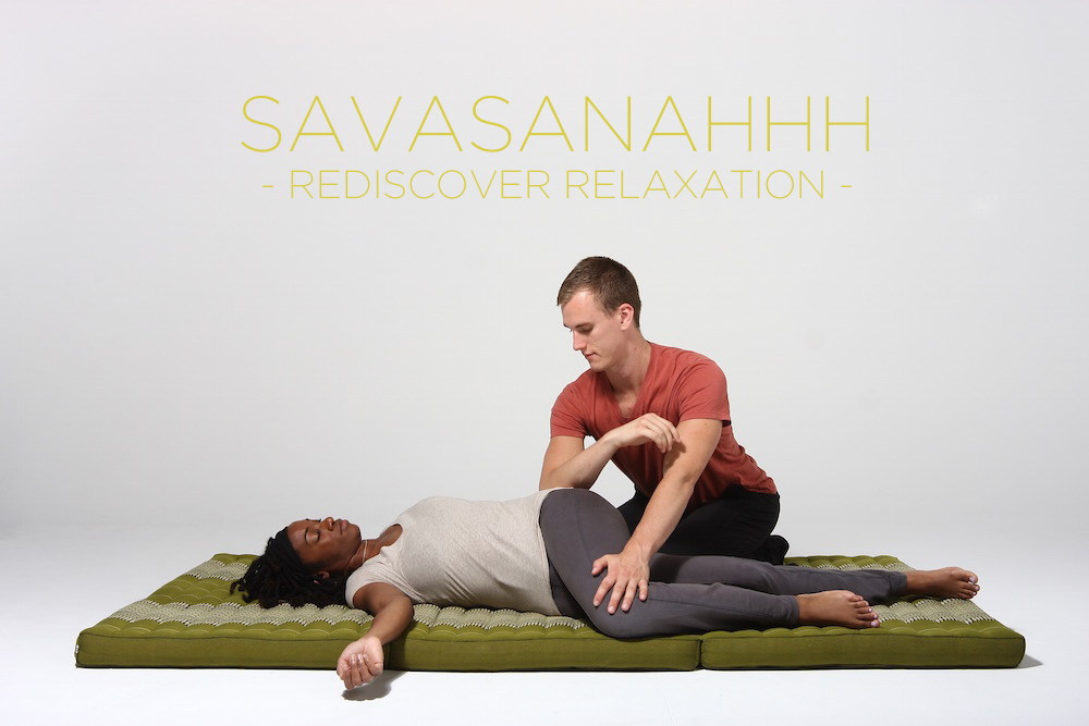 thai massage and restorative yoga blend