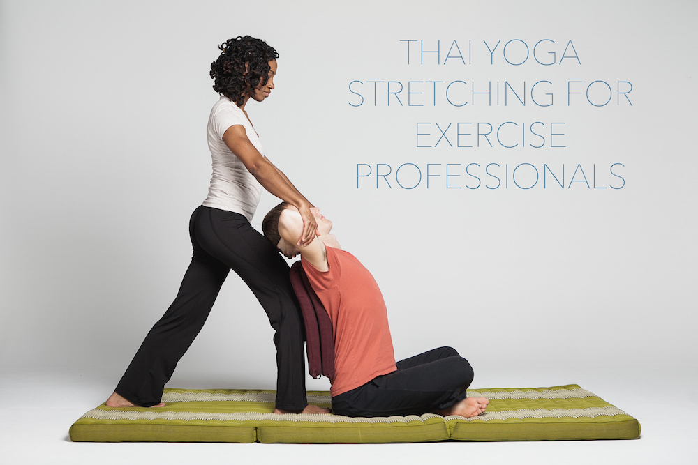 cover picture for Thai yoga stretching course