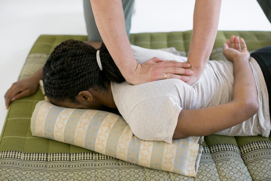perfect massage pressure