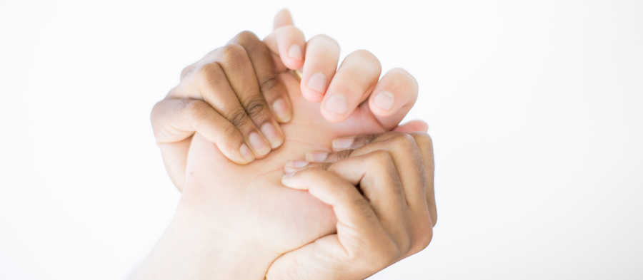 hand massage tutorial