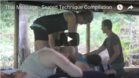 thai massage seated compilation