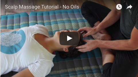scalp massage tutorial